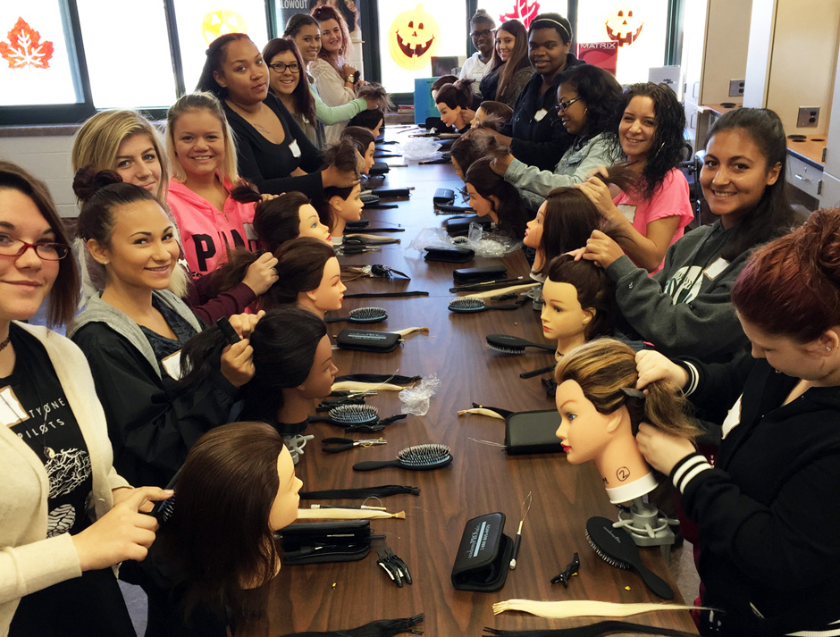 WFSD Cosmetology Academy Hair Extensions1